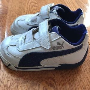 Puma toddler shoes size 5